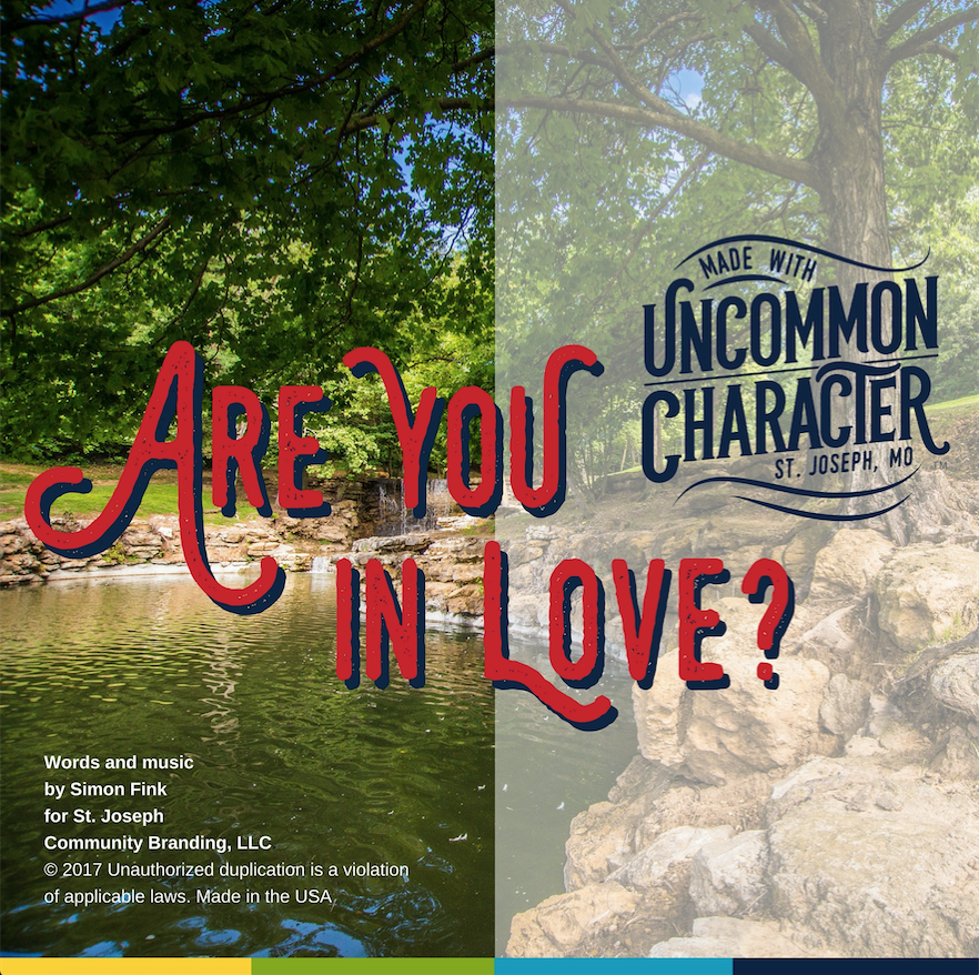 Are You In Love – Original Song by Simon Fink, St. Joseph MO, Uncommon Character
