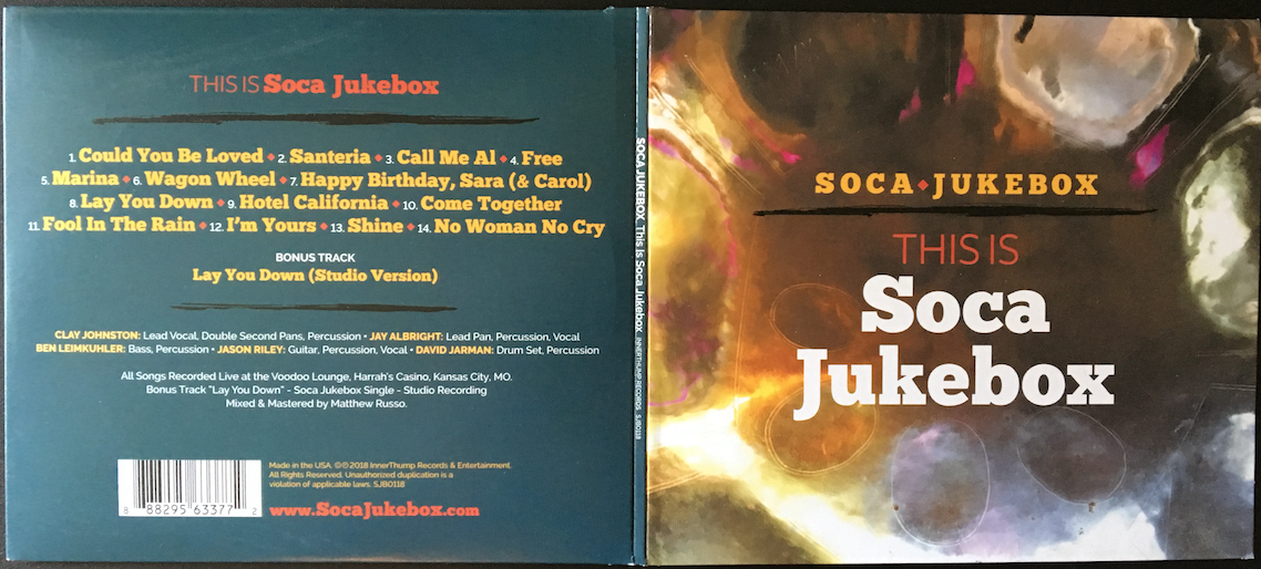 This is Soca Jukebox – The New Album from Soca Jukebox