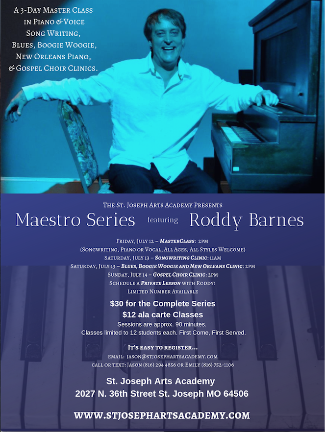 The St. Joseph Arts Academy Presents – Maestro Series